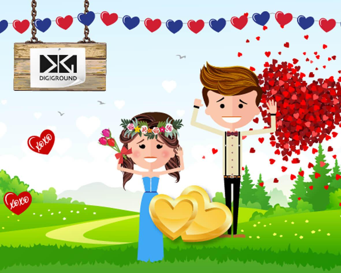 DigiGround App DigiGround Valentines Challenge