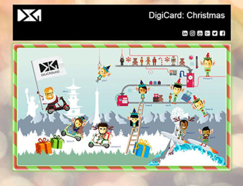 DigiGround Christmas Card