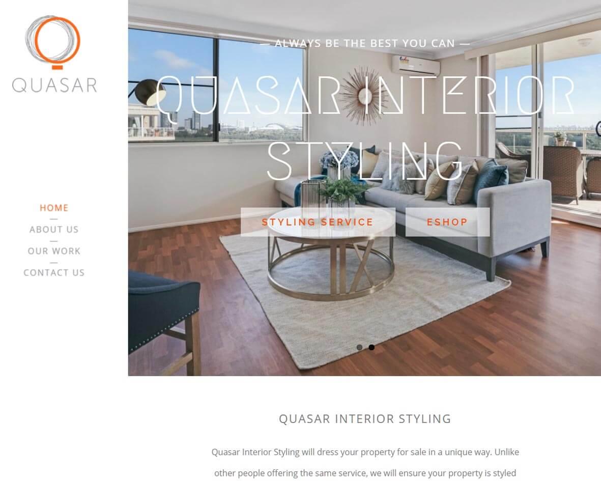 Quasar Interior Styling DigiGround Work
